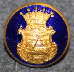 Gotlands län, Swedish County. 23mm, enameled