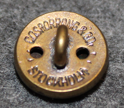 Gotlands län, Swedish County. 13mm, bronze