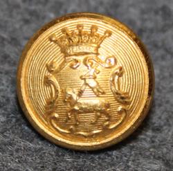 Gotlands län, Swedish County. 13mm, gilt