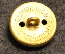 Gävleborgs län, Swedish County. 22mm, gilt pre 1938 LAST IN STOCK
