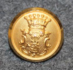Kristianstads län, Swedish County. 14mm, gilt