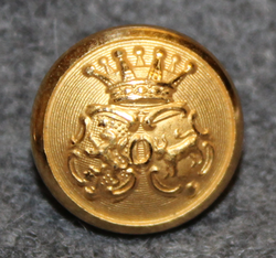 Älvsborgs län, Swedish County. 13mm, gilt v2
