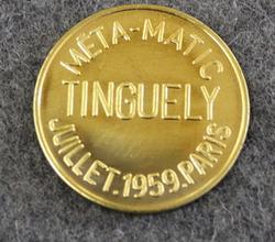 Méta-Matick Tinguely, Julliet 1959 Paris.