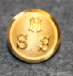 Norrköpings Segelsällskap, NSS, Yacht Club, 13mm gilt