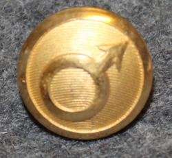 Norrbottens Järnverk AB, terästehdas, 14mm, kullattu