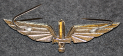 Slovakian Army, cap badge. Air force