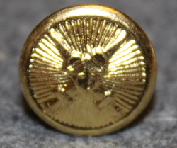 Slovakian Army, 15mm gilt, cap button