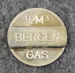 Bergen gas. 1/2 m3