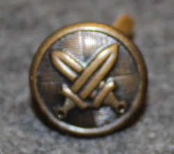 Slovakian Army, 15mm, brass, cap button