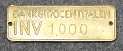 Bankgirocentralen INV