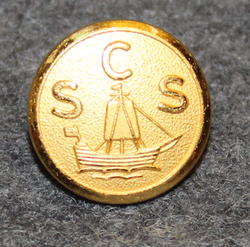 Christinehamns Segelsällskap, CSS, Yacht Club, 15mm gilt