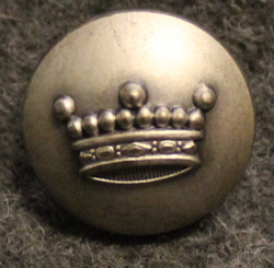 Friherrlig krona, Crown of a Baron swedish court livery, 16mm. gray