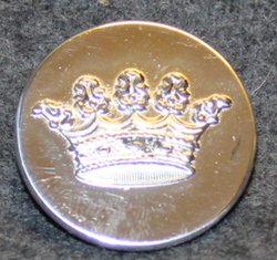 Grevlig krona, Crown of a Count, swedish court livery, 26mm, round edge