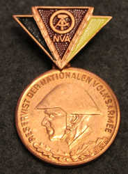DDR, Reservistenabzeichen der Nationalen Volksarmee, East German Peoples Army medal