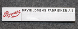 Brynildsens Fabrikker A.S, Candy and chokolate factory