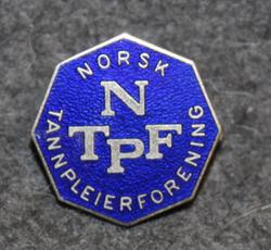 NTPF, Norsk Tannpleierforening, Norwegian dental hygienist association.