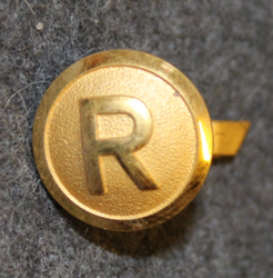 Rottneros AB, Forest industry corporation, 14mm gilt, cap button