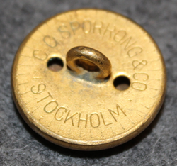 Sveriges Riksbank, The bank of Sweden, 23mm, gilt