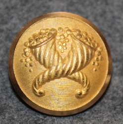 Sveriges Riksbank, The bank of Sweden, 23mm, gilt, export back