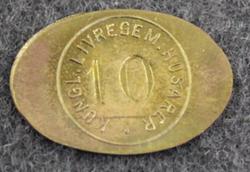 Kungliga Livregementets husarer, Swedish Royal Life Regiments Hussars. 10