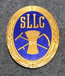 Skaraborgs Läns Lantmäns Centralförening, SLLC, upa. Maanviljelijöiden osuuskunta.