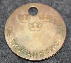 Kungliga Marinförvaltningen, KMF, Kuninkaallisen laivaston materiaalihallinto: Verkstadsskolan