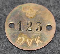 Kungliga Marinförvaltningen, KMF, Kuninkaallisen laivaston materiaalihallinto: Marinverkstaderna ÖVK