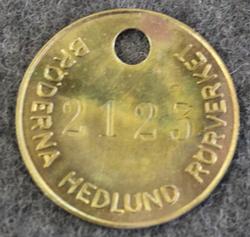 Bröderna Hedlunds Rörverk, Ironworks
