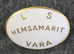 Hemsamarit Vara Köping, Kotisairaanhoitaja / kodinhoitaja.