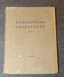 Finnish Army Garrison Service Regulations, 1937