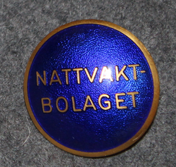 Nattvaktbolaget, nightwatch cap badge