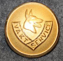 Vakt Service, vartiointiliike, 22mm kullattu