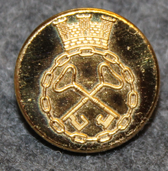 Västsvenska Vakt AB ( Göteborg ), Security company, 16mm gilt