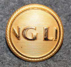 Viking LIne NG LI, Shipping company. 20mm gilt