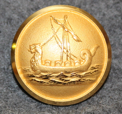 Uddevalla Segelsällskapet Viken, Uddevalla yacht club. 23mm gilt.  Pre 1976