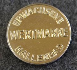 Gemeinde Schwaig b. Nürnberg, Erwachsene Wertmarke Hallenbad, Access token.