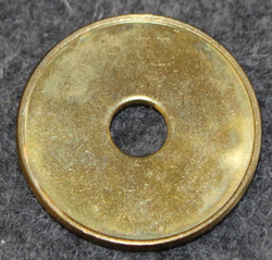 Erwachsene Wertmarke, Access token. Brass