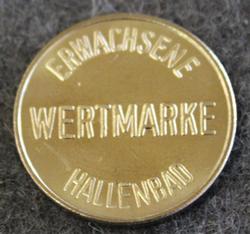 Erwachsene Wertmarke Hallenbad, Access token.