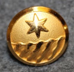 Kungliga Vattenfallsstyrelsen, Royal Swedish hydroelectric administration. 13,5mm gilt