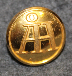 Åhlen & Holm, department stores. 15mm gilt LAST IN STOCK