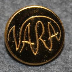 Västsveriges allmänna restaurant AB, VARA, Restaurant chain, 16mm gilt