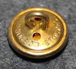 Förenade Svenska Vakt AB, ( Securitas ) 15mm gilt