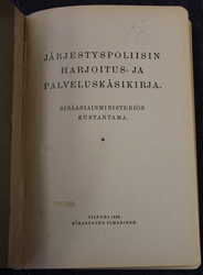 Finnish Police, service an training manual, 1st edition 1930.