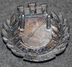 Swiss Police. Stadtpolizei Zürich, helmet badge. Small