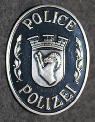 Swiss Police, badge.