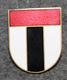 Sveitsin poliisi, lakkimerkki, Baden