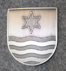 Swiss Police, helmet badge, Wettingen LAST IN STOCK