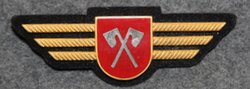 Chest badge ( Brustflügel ) Swiss Police. Biel, LAST IN STOCK