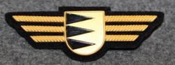 Rintamerkki, sveitsin poliisi. Bassecourt