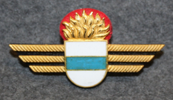 Chest badge ( Brustflügel ) Swiss fire depatrments, Zug